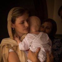 Крещение сыночка :: Ирина Холодная