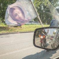 Крестный ход на мотоциклах в Ижевске :: Олег Лунин