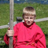 Мальчик в косоворотке :: Avada Kedavra!