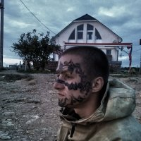 Тату на лице :: РоЗа Бара