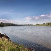 На берегу реки Белой в окрестностях Уфы. :: Виктор Куприянов