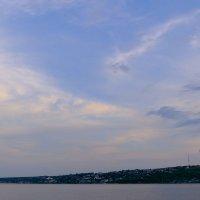 Волжский пейзаж :: Андрей Михайлин