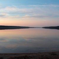 Летний вечер на озере. :: Любовь Анищенко