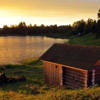 Вечер на озере. :: Елена Швецова