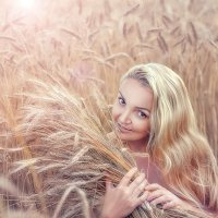 Море цветы пшеницы :: Yana Sergeenkova