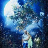 Двое при луне :: Елена Нор