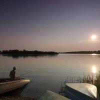Рыбак на закате :: Nyuta H