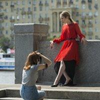 Подглядывая за чужой фото-сессией :: Александр Степовой