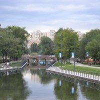 Озеро в парке, г. Астана :: Anita Lee