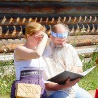 Чтение старославянской книги :: Виталий Ветров