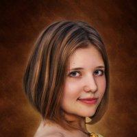 Девушка в желтом :: Виктор Козлов