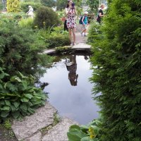 В ботаническом саду :: Виктор Елисеев