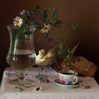 С чашкой чая. :: Liliya
