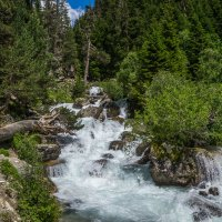 Река Кичи-Муруджу... :: Юлия Бабитко