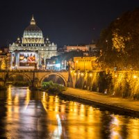 Собор Святого Петра, вид с набережной Тибра, Рим :: Ашот ASHOT Григорян GRIGORYAN