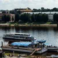 Пристань в Новгороде :: Алексей Корнеев