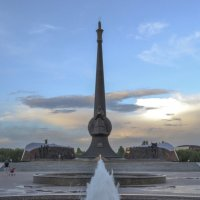 Монумент «Отан коргаушылар» (Защитники отечества), г.Астана :: Anita Lee