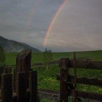 Радуга в долине :: Александра Сучкова