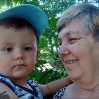 Любимый внучек :: Нина Корешкова