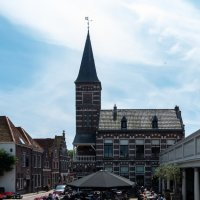 Площадь перед Ратхаузом, Эдам, Голландия :: Witalij Loewin