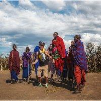 В гостях у масаев...Танзания,селение масаев! :: Александр Вивчарик