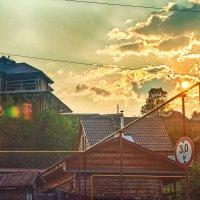 И солнце плавит облака... :: Дмитрий Костоусов