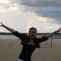 Вечерняя радуга... :: Алекс Аро Аро
