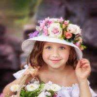 Барышня - цветочница :: Юлия