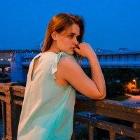 На мосту стоит в даль глядит :: Света Кондрашова