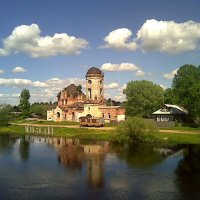 Николо-Столобенский мужской монастырь.пос. Белый Омут :: Павлова Татьяна Павлова