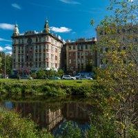 Набережная реки Смоленки. Санкт-Петербург :: Елена Кириллова