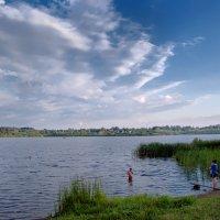 Вечернее купание :: Владимир Рязанов