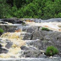 """Водопад на реке Тохмайоки (Из серии """"Летние поездки"""") :: Ольга Иргит"""