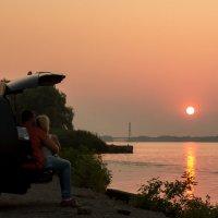Провожая солнце :: Artem Zelenyuk
