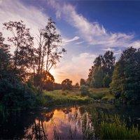 Вечерний снимок небольшого залива на р. Жаленка :: Павел Корнеев