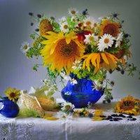 Солнечные цветы... :: Валентина Колова