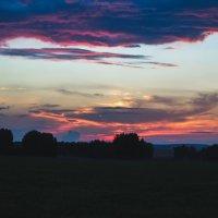 Закат по дороге от Горного Алтая :: Anna