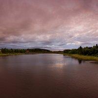 Вечернее небо над заливом Ляппяярви :: Константин