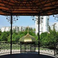 Вид с веранды храма Святого Николая :: Нина Корешкова