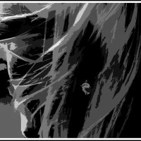 Мертв для сердца абстрактный  портрет... :: юрий