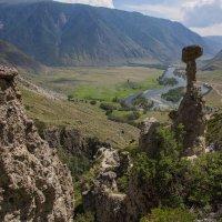 Каменные грибы и долина реки Чулышман :: Alex AST
