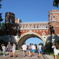Прогулки в Царицыно :: lady-viola2014 -