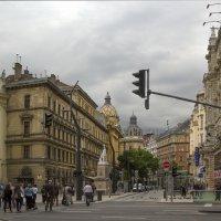 Пасмурный вечер на улицах Будапешта. :: Cергей Павлович