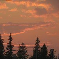 Облака на закате :: Наталья Пендюк Пендюк