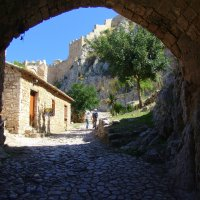 Вход в крепость.Крепость Паламиди, Нафплио.Греция. :: Оля Богданович