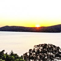 ...Sunrise over Spinalonga :: Александр Липецкий