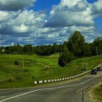 Через реку Малиновка :: Александр