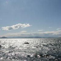 Двое в лодке... :: Ekaterina Nikolaeva