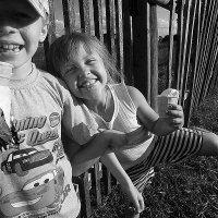 Лето в деревне. :: Сергей Скуратов