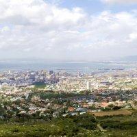 Кейптаун с высоты Table Mountain :: Вадим Залыгаев